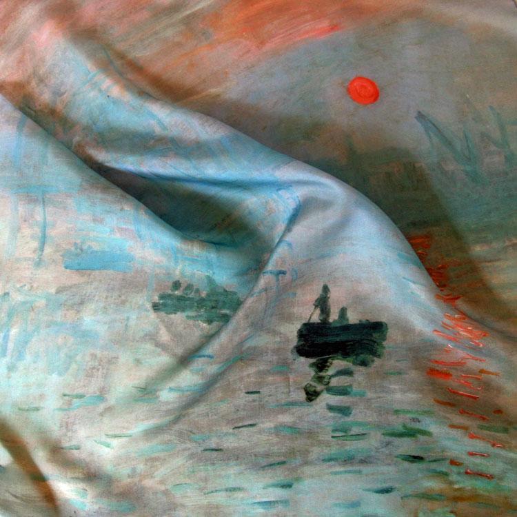 Impression de photos sur tissu la fibre cr ative - Soie imprimee au metre ...